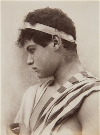 untitled (young sicilians] by baron wilhelm von gloeden